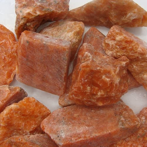Crystals Shop Sydney Orange Calcite
